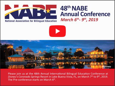 NABE 2019 - NATIONAL ASSOCIATION FOR BILINGUAL EDUCATION